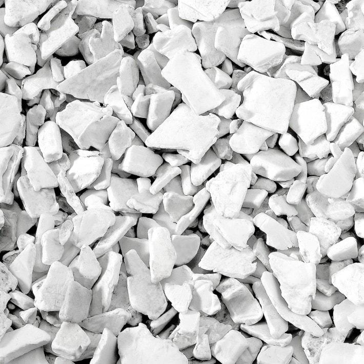 plasticos blancos lavados