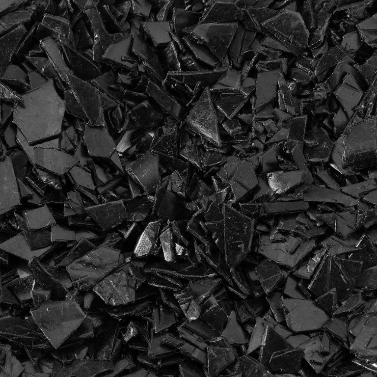 polipropileno triturado negro